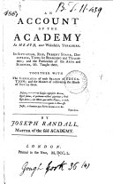 An Account of the Academy at Heath