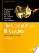 The Topos of Music III  Gestures