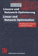 Lineare und Netzwerk-Optimierung / Linear and Network-Optimization