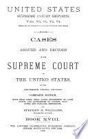 Reports of Cases Argued and Decided in the Supreme Court of the United States Pdf/ePub eBook