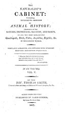 The Naturalist s Cabinet  Containing     Sketches of Animal History  Etc
