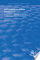 Policymaking for Critical Infrastructure