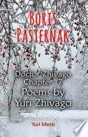 Boris Pasternak Books, Boris Pasternak poetry book
