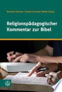 Religionspädagogischer Kommentar zur Bibel