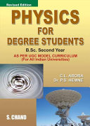 Pdf Physics for Degree Students B.Sc Second Year Telecharger