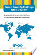 Product-Service System Design for Sustainability