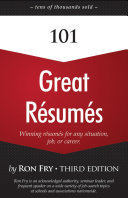 101 Great Résumés