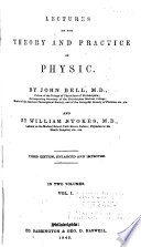 Lectures on the Theory and Practice of Physic Book PDF