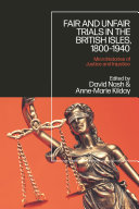 Pdf Fair and Unfair Trials in the British Isles, 1800-1940