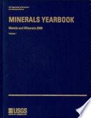 Minerals Yearbook  2008  V  1  Metals and Minerals