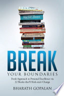 Break Your Boundaries Book