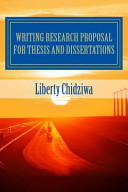 Writing Research Proposal for Thesis and Dissertations