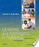 Leading And Managing In Nursing Revised Reprint E Book