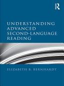 Pdf Understanding Advanced Second-Language Reading Telecharger