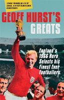 Geoff Hurst's Greats