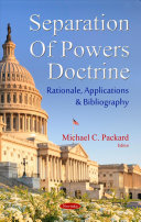 The Separation of Powers Doctrine Book