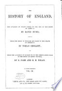 The History of England from the Invasion of Julius Cæsar to the End of the Reign of James II