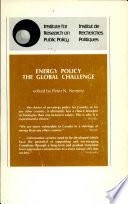 Energy Policy The Global Challenge