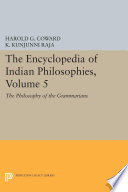 The Encyclopedia of Indian Philosophies, Volume 5