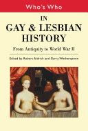 Who s Who in Gay and Lesbian History Vol 1