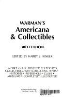 Warman s Americana   collectibles