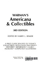 Warman S Americana And Collectibles