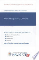 Android Programming Concepts Passcode