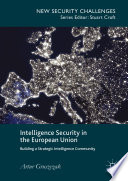 Intelligence Security in the European Union Book
