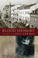 Blood Memory ebook