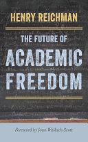 The Future of Academic Freedom [Pdf/ePub] eBook