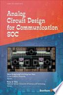 Analog Circuit Design for Communication SOC