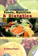 A Textbook Of Foods Nutrition Dietetics