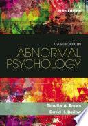 Casebook in Abnormal Psychology Book