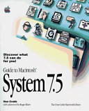 Guide To Macintosh System 7 5