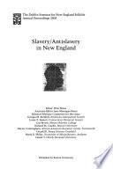 Slavery/antislavery in New England