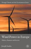 Wind Power in Europe Book