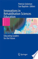 Innovations In Rehabilitation Sciences Education Book PDF