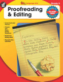The 100  Series Proofreading   Editing  Grade 4