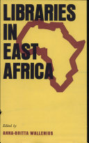 Pdf Libraries in East Africa