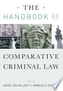 The Handbook Of Comparative Criminal Law Book PDF
