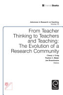 From Teacher Thinking to Teachers and Teaching