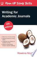 Writing for Academic Journals 4e Book