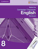 Books - Cambridge Checkpoint English Workbook Book 8 | ISBN 9781107663152
