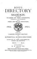 Boyd s Directory of Shamokin