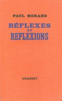 Pdf Réflexes et réflexions Telecharger
