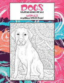 Coloring Books for Zen   Animals   Mandala Stress Relief   Dogs