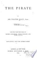 Waverley Novels: The pirate