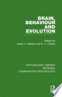 Brain, Behaviour and Evolution