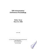 Immunization Conference Proceedings