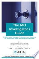 The IAQ Investigator s Guide Book